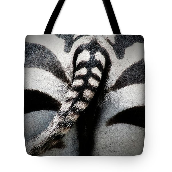 Rear-end Tote Bag by Douglas Barnard