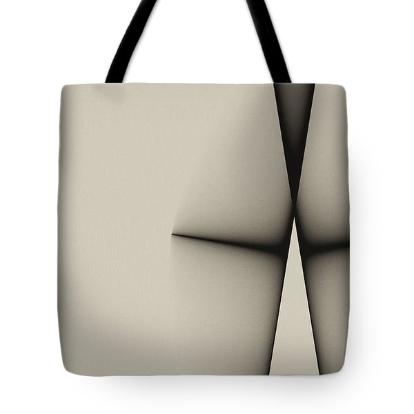 Rear View Tote Bag by GJ Blackman
