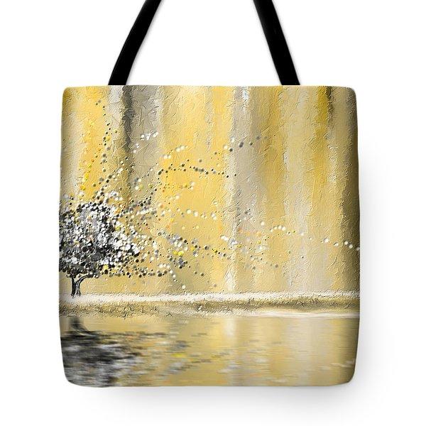 Reawakening Tote Bag by Lourry Legarde