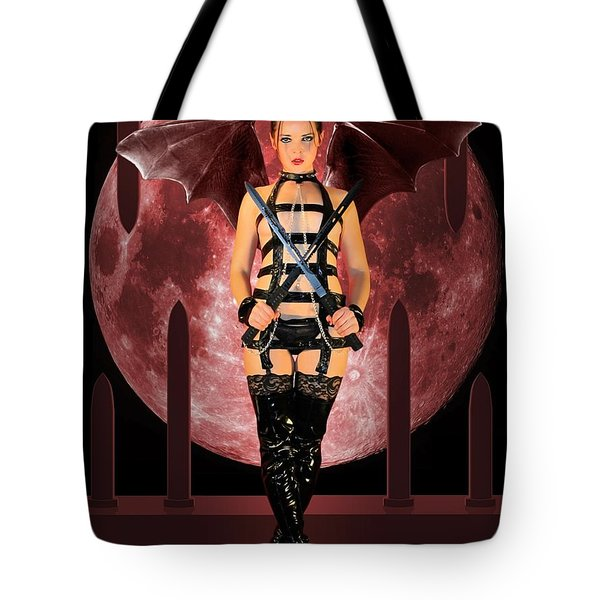 Rebel Demon Tote Bag