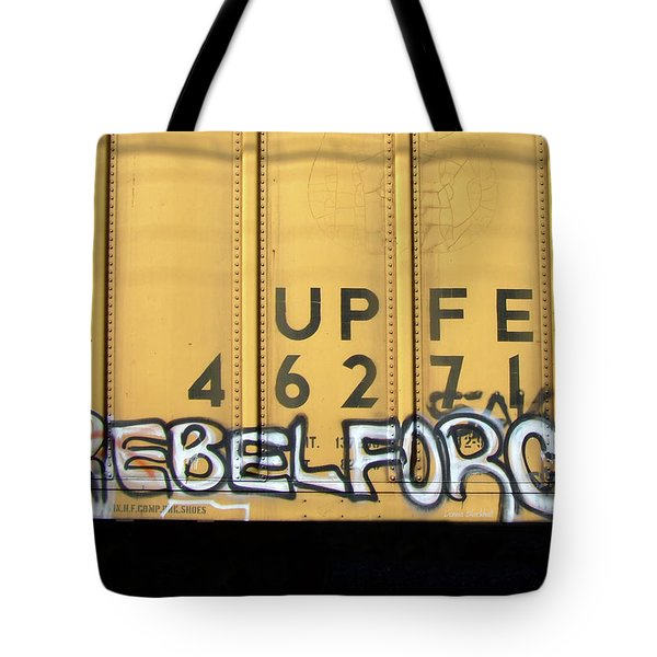 Rebel Force Tote Bag by Donna Blackhall