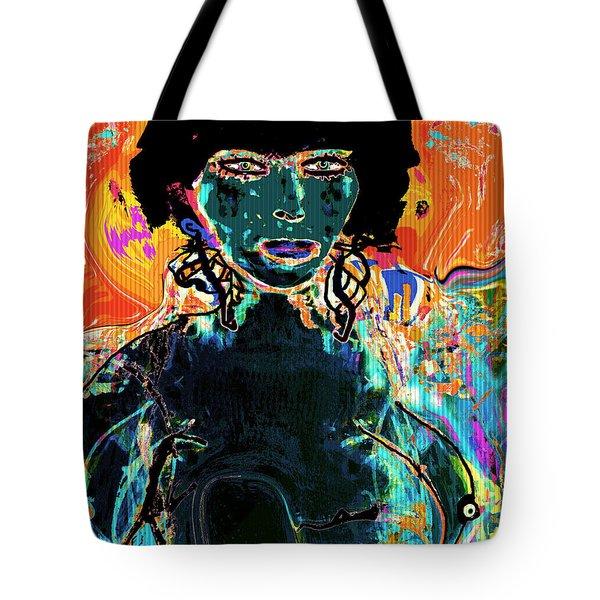 Rebel Tote Bag by Natalie Holland