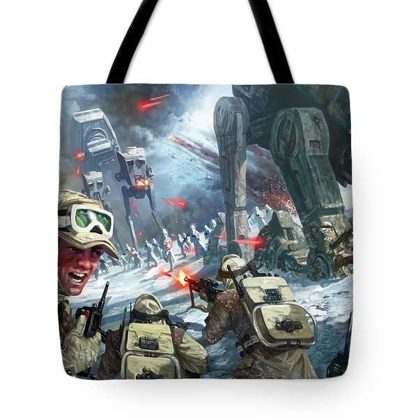 Rebel Rescue Tote Bag by Ryan Barger