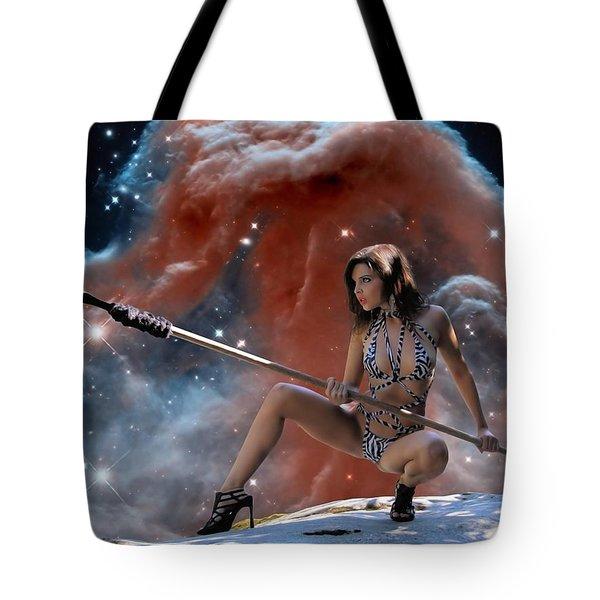 Rebel Warrior Tote Bag