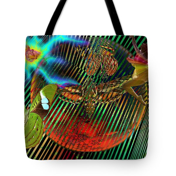 Rebirth Of Life Tote Bag