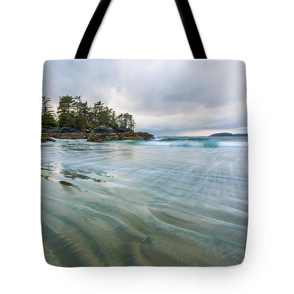 Receding Waves Tote Bag