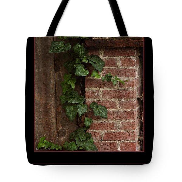 Reclaim No.2 Tote Bag by Peter Piatt