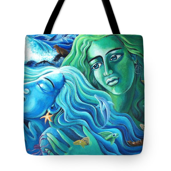 Reclaiming The Seas Tote Bag