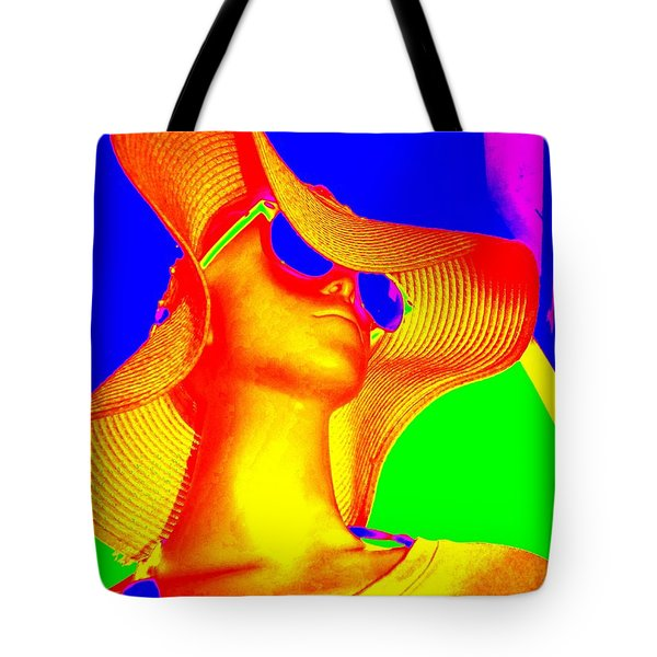 Reclusive Rosa Tote Bag by Ed Weidman