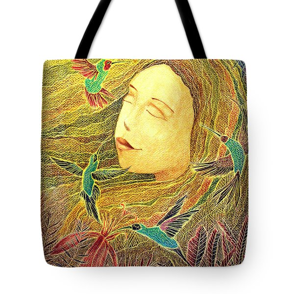 Tote Bag featuring the painting Recordando A Puerto Rico by Oscar Ortiz