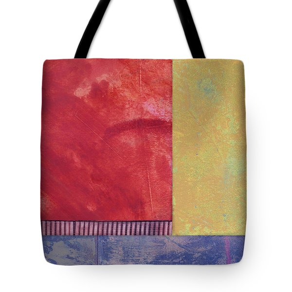 Rectangles - Abstract -art  Tote Bag by Ann Powell