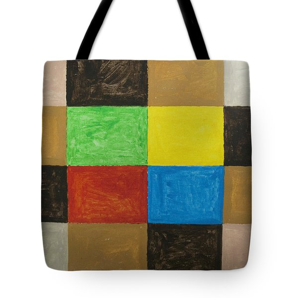 Rectangles Tote Bag by Stormm Bradshaw
