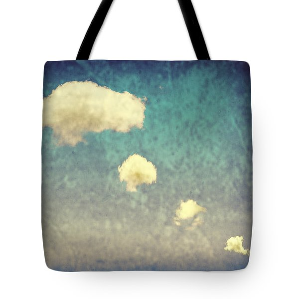 Recycled Clouds Tote Bag by Amanda Elwell