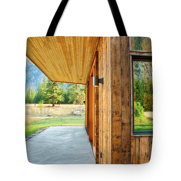 Recycled Siding Tote Bag by Omaste Witkowski