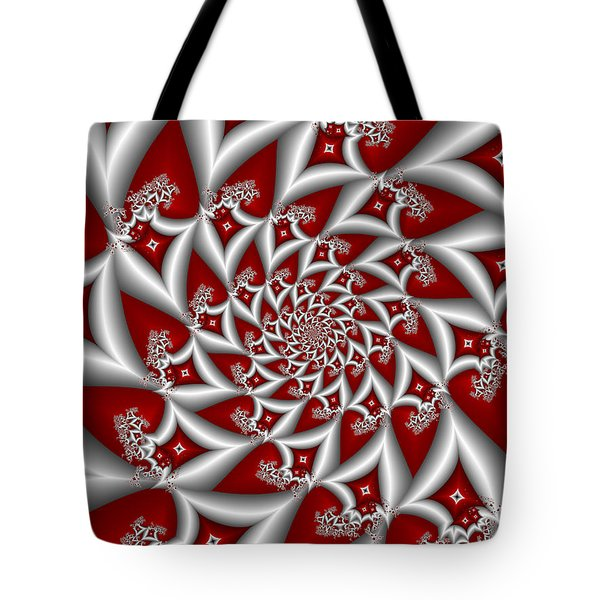 Red An Gray Tote Bag