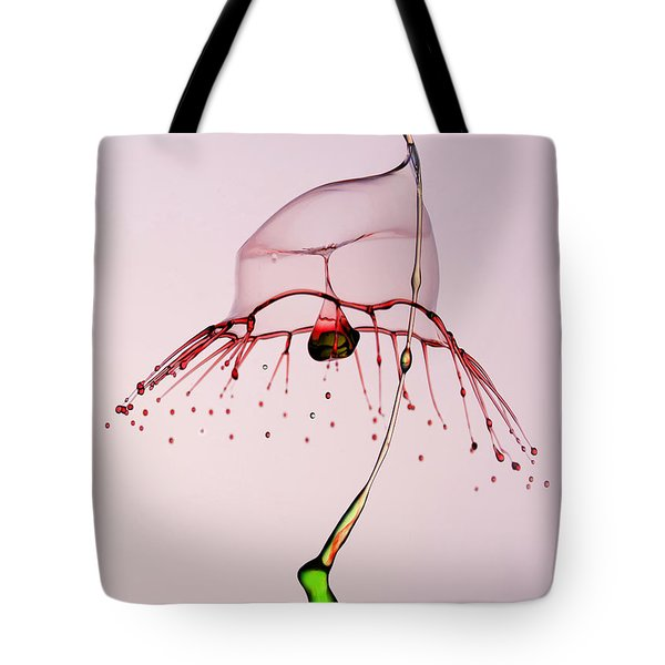 Red And Green Tote Bag