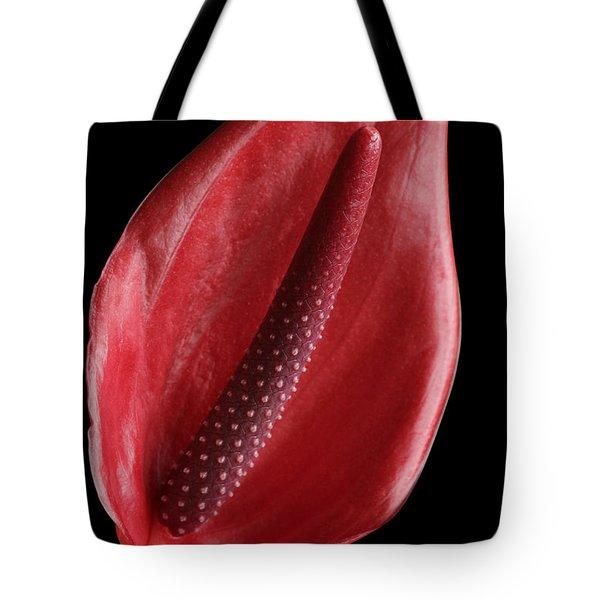 Red Anthurium #3 Tote Bag