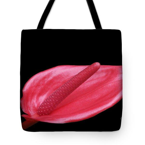 Red Anthurium Tote Bag
