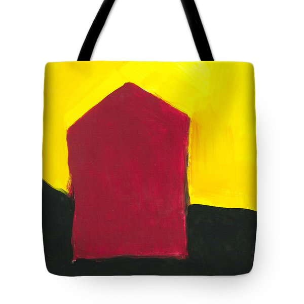 Red Arthouse Tote Bag
