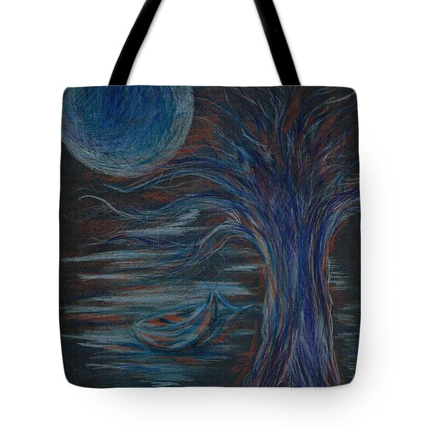 Red At Midnight Tote Bag