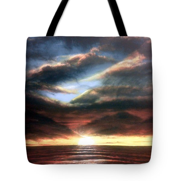 Red At Night Tote Bag