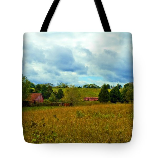 Red Barn Six Tote Bag