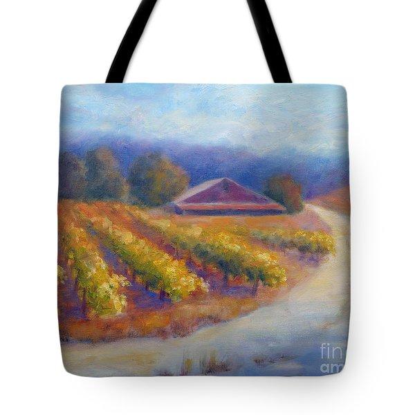 Red Barn Vineyard Tote Bag