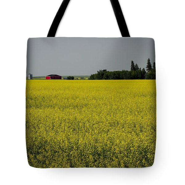 Tote Bag featuring the photograph Red Barn by Windy Corduroy