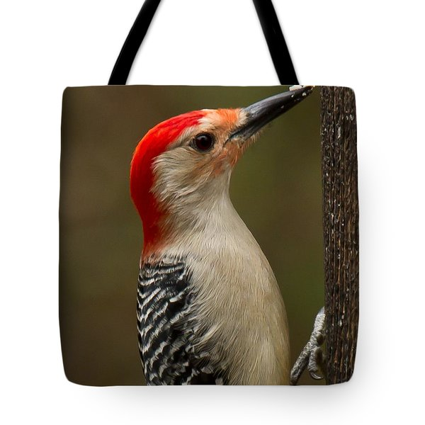 Red-bellied Woodpecker Tote Bag by Robert L Jackson