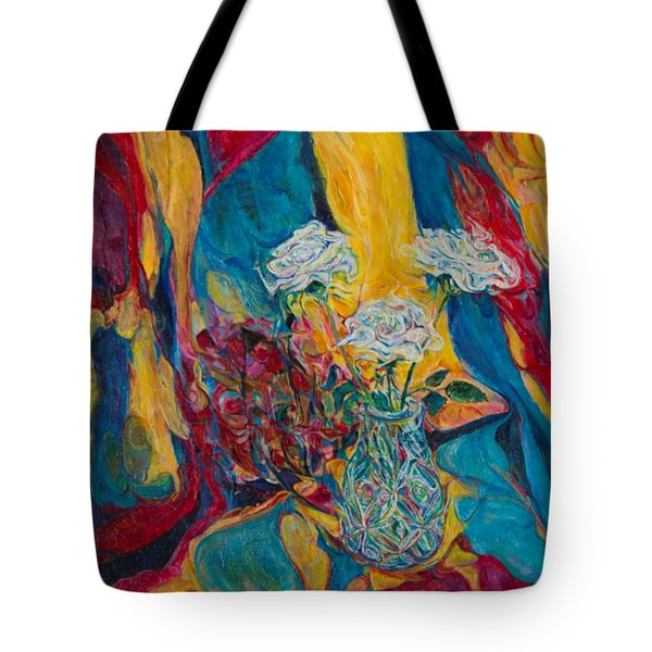 Red Blue Yellow Tote Bag