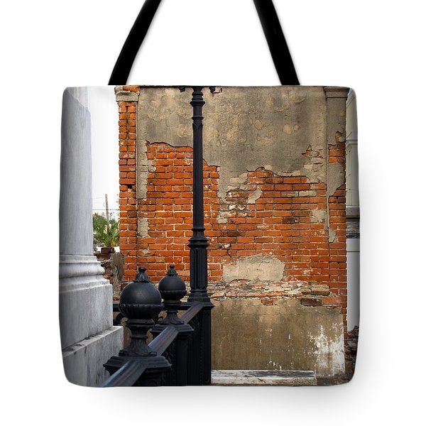 Red Bricks Tote Bag