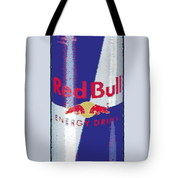 Red Bull Ode To Andy Warhol Tote Bag