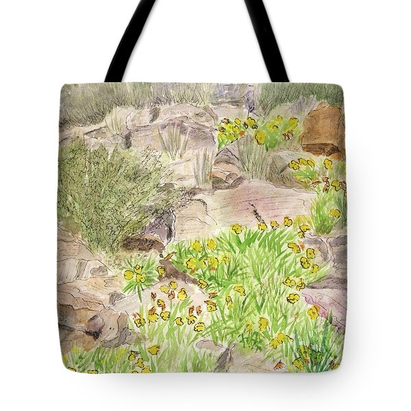 Red Butte Gardens Tote Bag