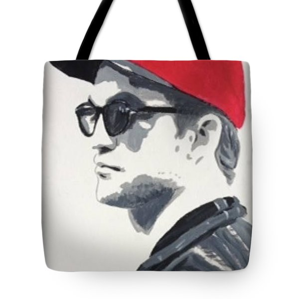 Red Cap Rob Tote Bag