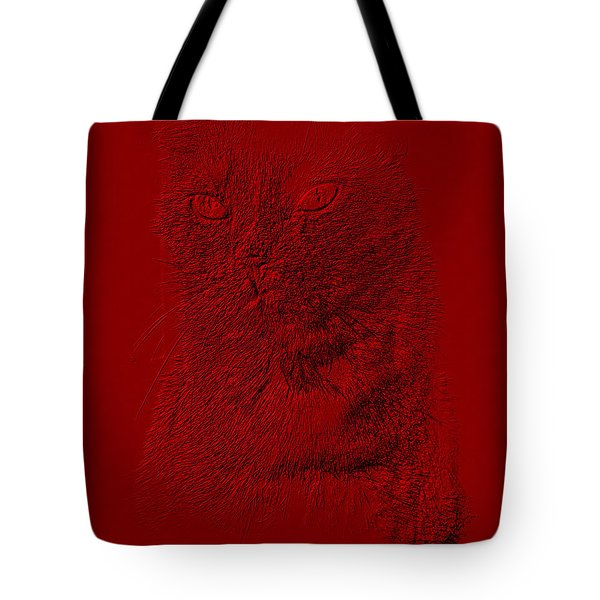 Red Cat Collection. Special... Tote Bag by Oksana Semenchenko