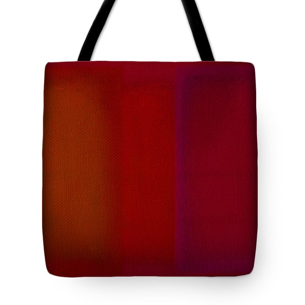 Red Tote Bag by Charles Stuart