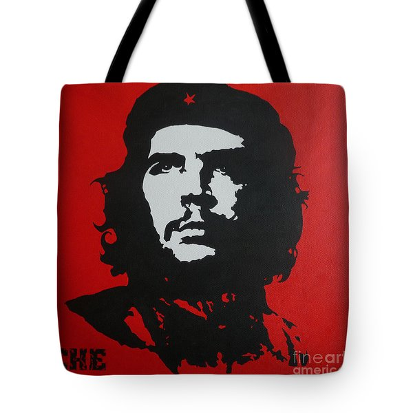Red Che Tote Bag by ID Goodall