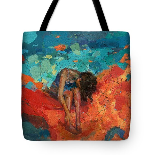 Red Cloud Tote Bag by Corporate Art Task Force