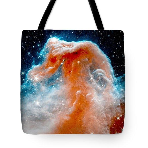 Red Cloud Walker Tote Bag