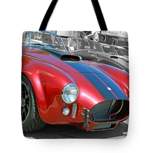 Tote Bag featuring the photograph Red Cobra by Shoal Hollingsworth