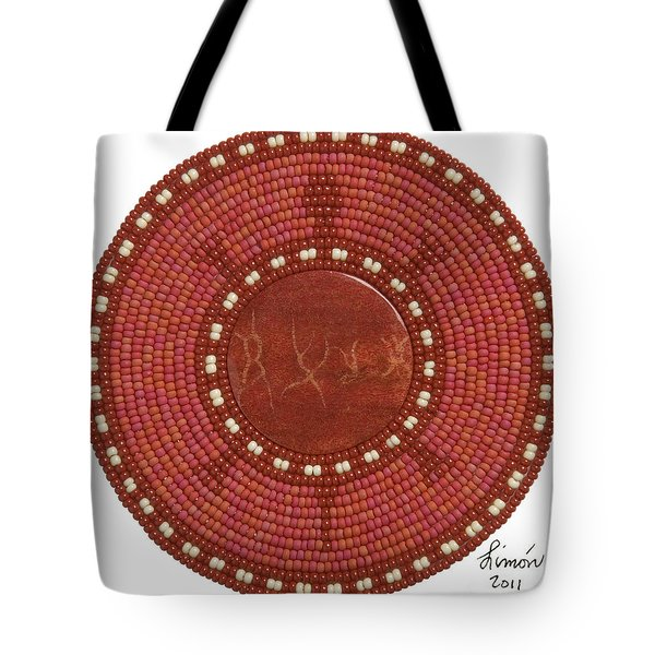 Red Coral Tote Bag
