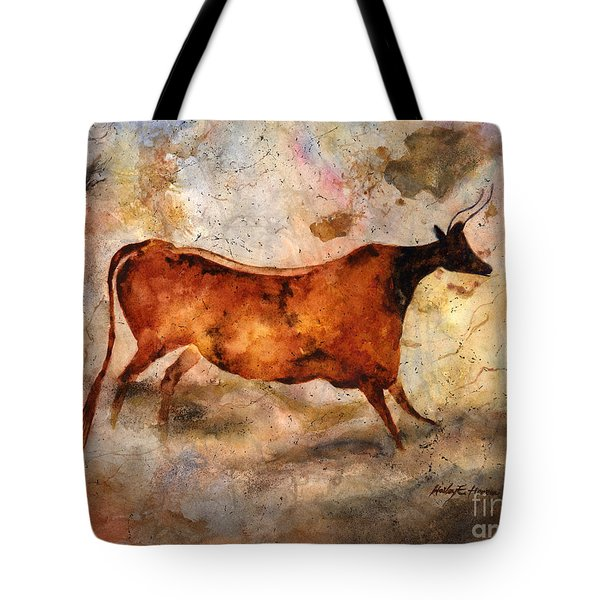 Red Cow Tote Bag