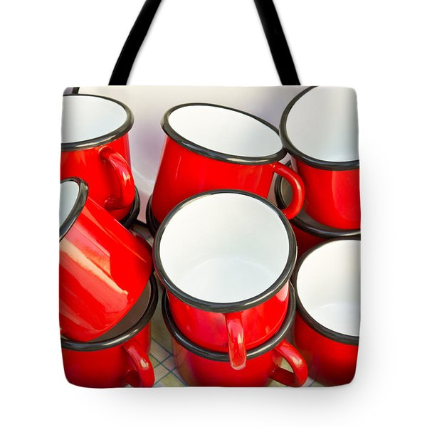 Red Cups Tote Bag