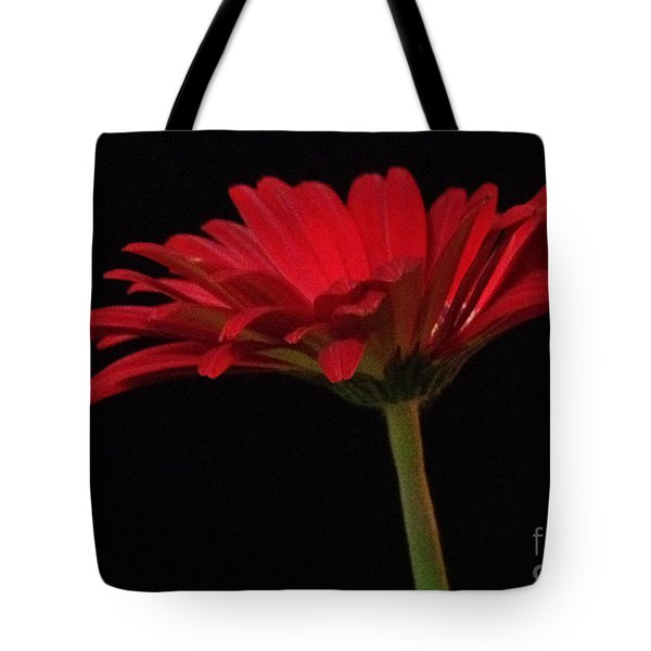 Red Daisy 2 Tote Bag