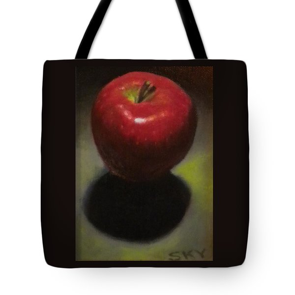 Red Delicious Tote Bag by Blue Sky
