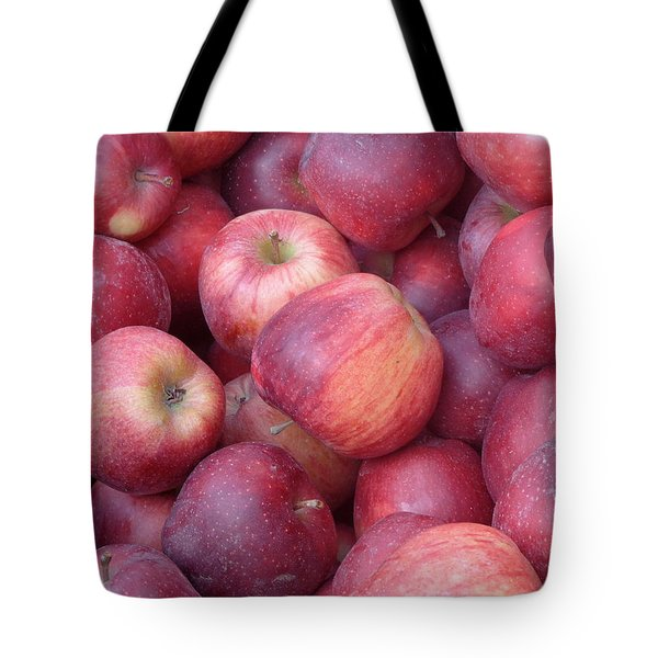 Tote Bag featuring the photograph Red Delicious by Joseph Skompski