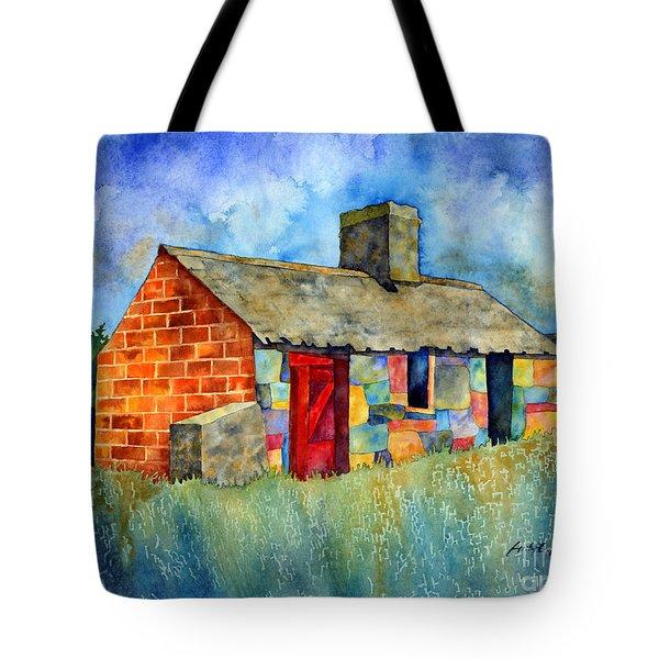 Red Door Cottage Tote Bag