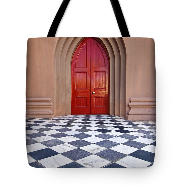 Red Door - D001859 Tote Bag