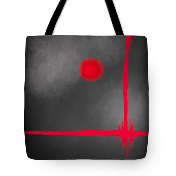 Red Dot Tote Bag