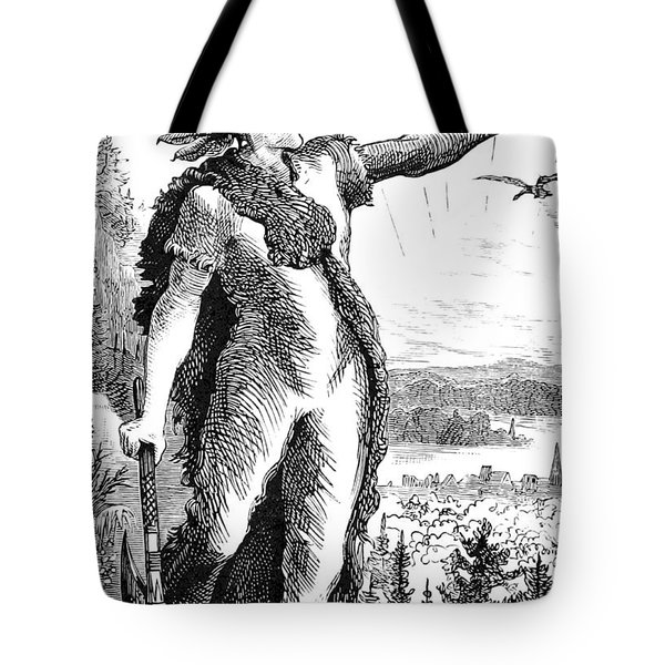 Red Eagle, William Weatherford, Creek Tote Bag